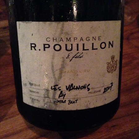 R. Pouillon & Fils Les Valnons Extra Brut Grand Cru Champagne Blend 2008