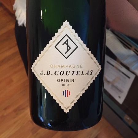 A.D. Coutelas Origin' Brut Champagne