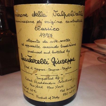 Giuseppe Quintarelli Recioto della Valpolicella Classico Corvina Blend 1997 (375ml)