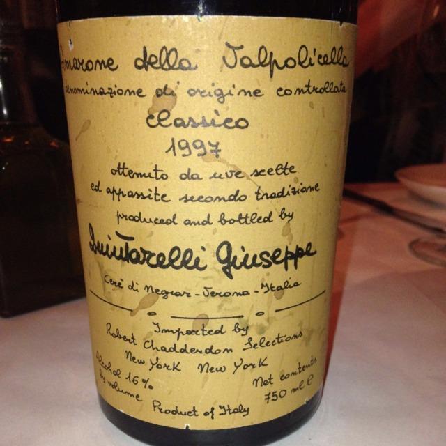 Recioto della Valpolicella Classico Corvina Blend 1997 (375ml)