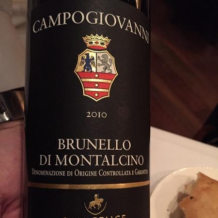 Campogiovanni (San Felice) Brunello di Montalcino Sangiovese 2010