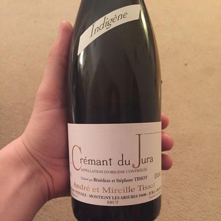 Domaine André et Mireille Tissot Indigène Crémant du Jura Brut Chardonnay Blend NV