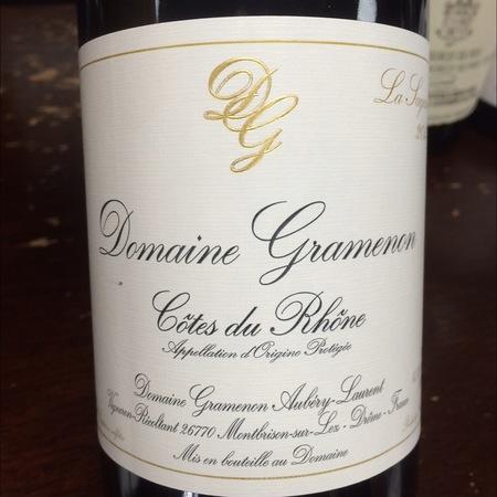 Domaine Gramenon La Sagesse Côtes du Rhône Grenache 2015