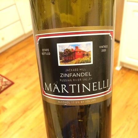 Martinelli Jackass Hill Zinfandel 2005
