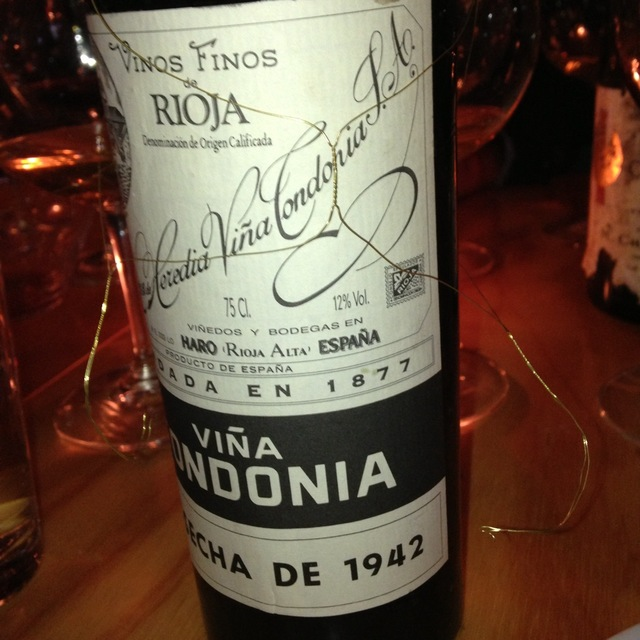 Viña Tondonia Gran Reserva Rioja Tempranillo Blend 1942
