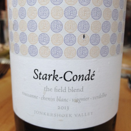 Stark-Condé The Field Blend White Jonkershoek Valley Roussanne Blend  NV