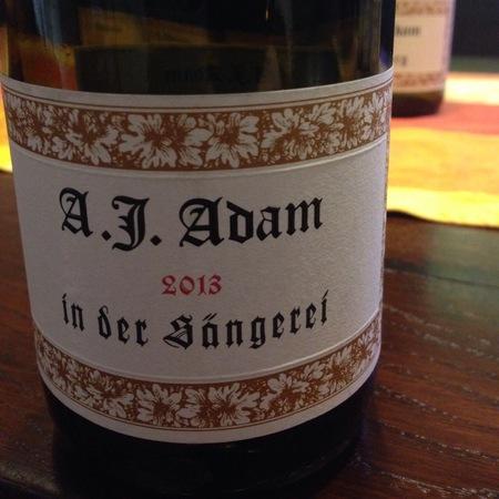 Weingut A.J. Adam In der Sängerei Riesling 2014 (1500ml)