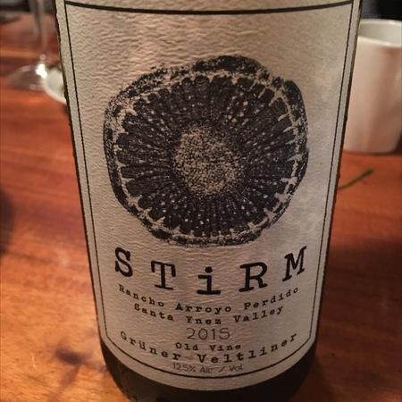 Stirm Rancho Arroyo Perdido Old Vine Grüner Veltliner 2015