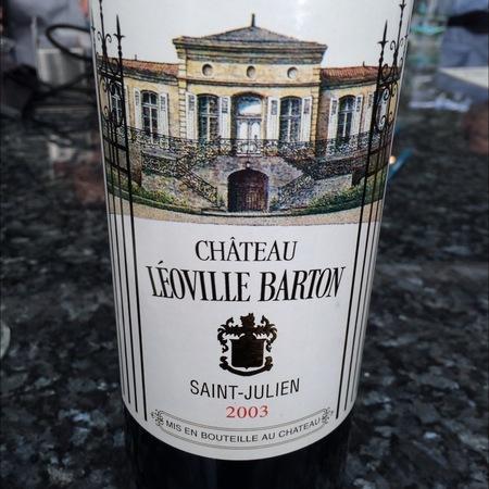 Château Léoville Barton Saint-Julien Red Bordeaux Blend 2014