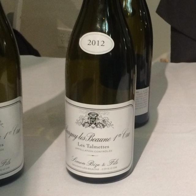 Les Talmettes Savigny-lès-Beaune 1er Cru Pinot Noir 2012