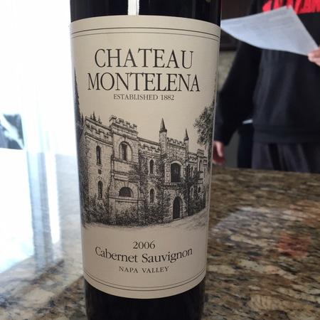 Chateau Montelena Estate Bottled Napa Valley Chardonnay 2006