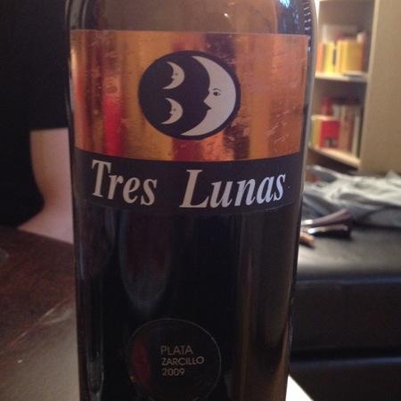tres lunas Tinta de Toro Garnacha Blend 2014