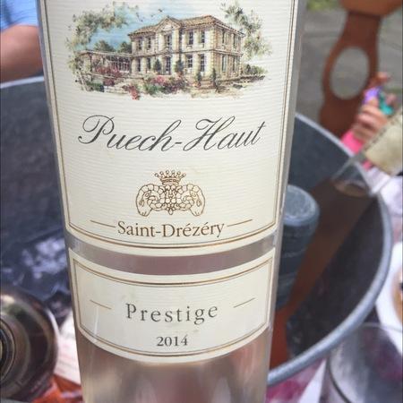 Château Puech-Haut Prestige Saint-Drézéry Rosé Grenache Cinsault 2016