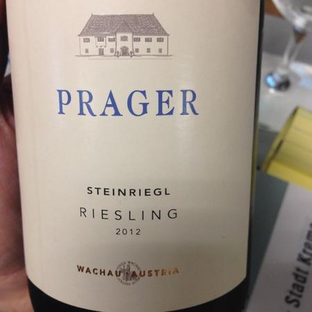 Prager Steinriegl Federspiel Riesling 2015