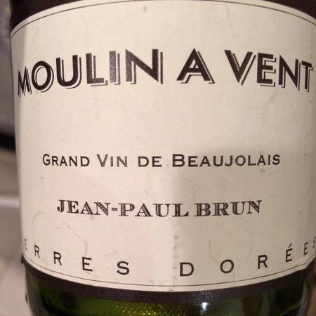 Domaine des Terres Dorées (Jean-Paul Brun) Moulin-à-Vent Gamay 2015