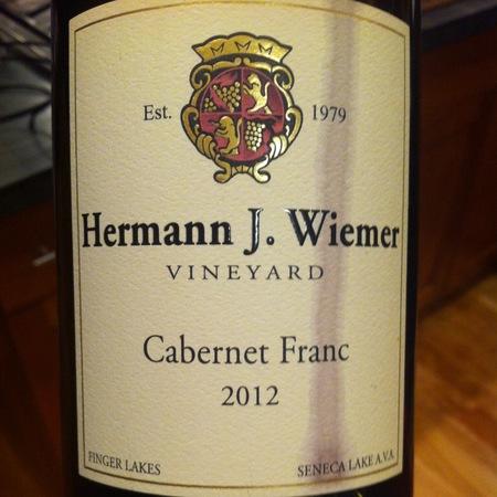 Hermann J. Wiemer Finger Lakes Cabernet Franc 2016
