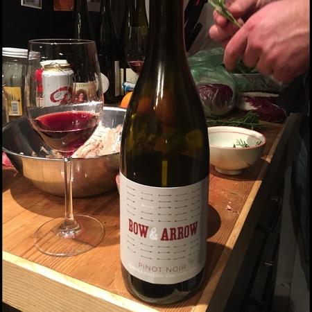 Bow and Arrow Hughes Hollow Vineyard Pinot Noir 2015