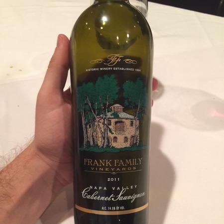 Frank Family Vineyards Napa Valley Cabernet Sauvignon 2014