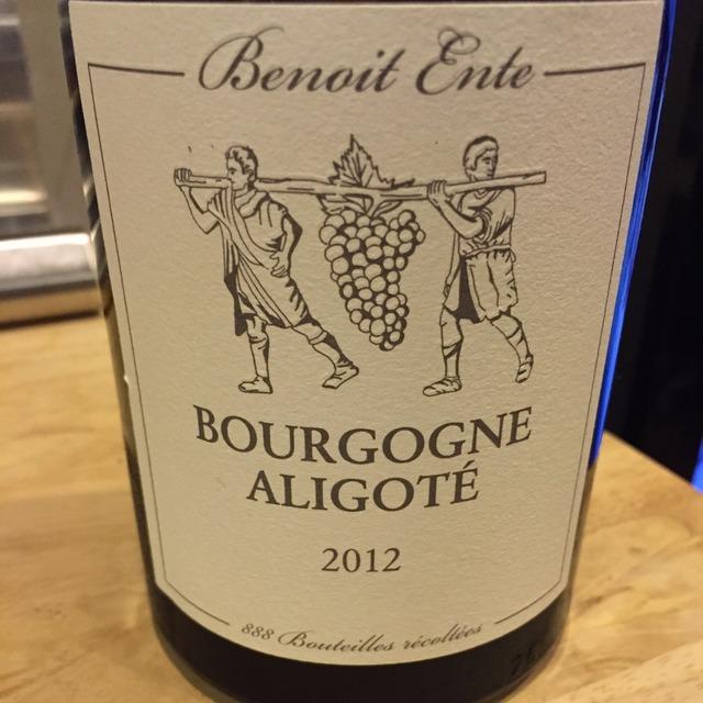 Bourgogne Aligoté 2012