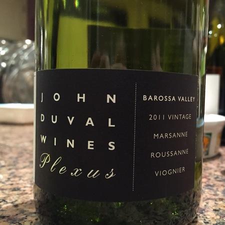 John Duval Wines Plexus Shiraz Blend 2011