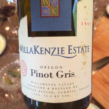 WillaKenzie Estate Willamette Valley Pinot Gris 2015