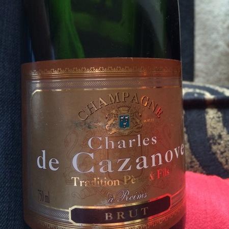Charles de Cazanove Tradition Brut Champagne  NV (375ml)