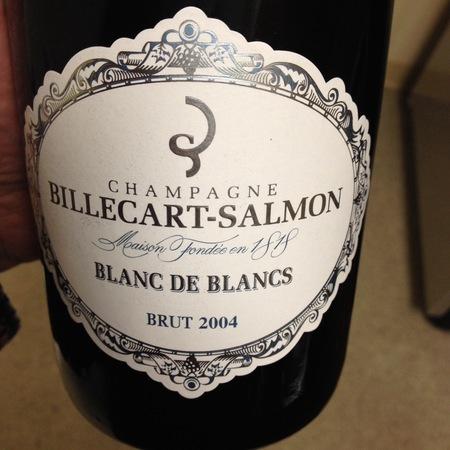 Billecart-Salmon Blanc de Blancs Brut Champagne Chardonnay 2004