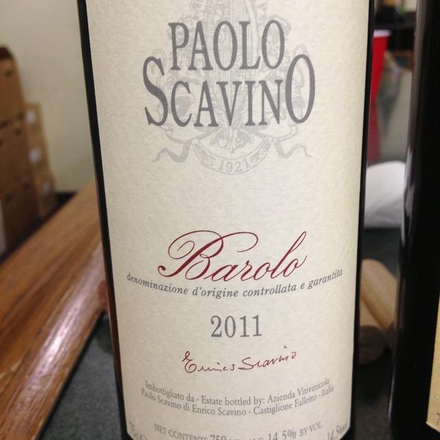 Barolo Nebbiolo 2011