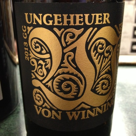 Von Winning Ungeheuer GG Riesling 2015