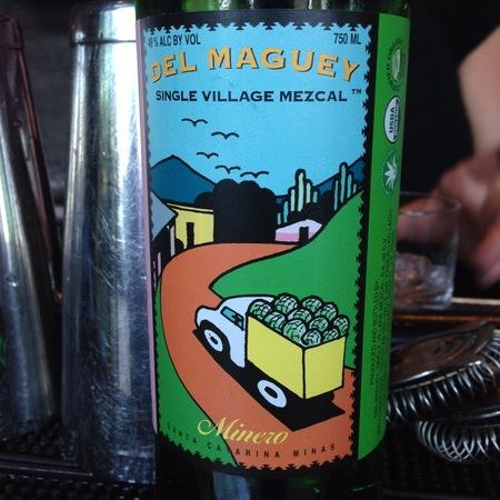 Del Maguey Minero Single Village Mezcal NV