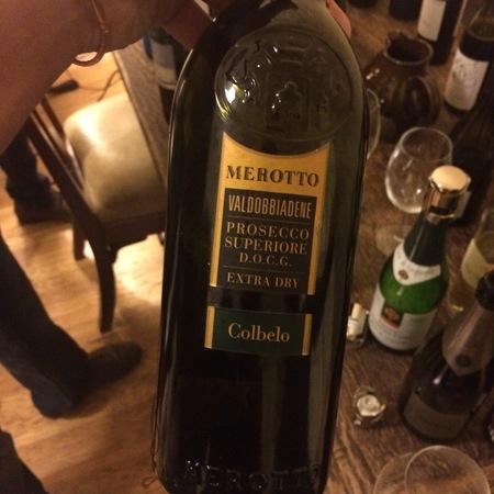Merotto 'Colbelo' Prosecco Superiore DOCG Extra Dry Prosecco  NV