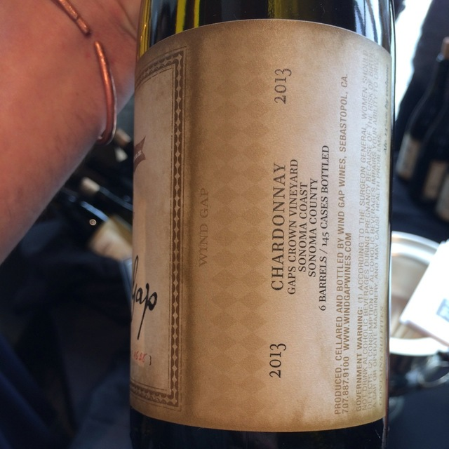 Gap's Crown Vineyard Chardonnay 2013