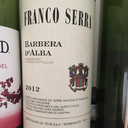 Franco Serra Barbera d'Alba 2016