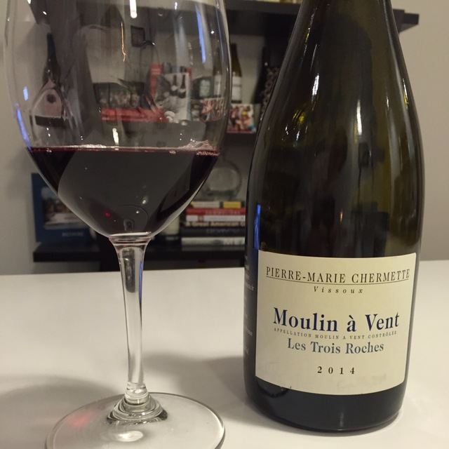 Les Trois Roches Moulin a Vent Gamay 2010