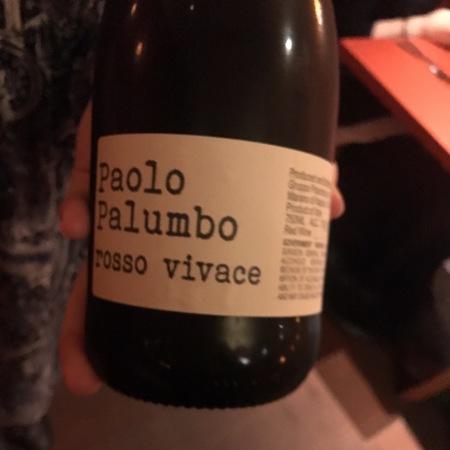 Paolo Palumbo Rosso Vivace Aglianico Blend 2016