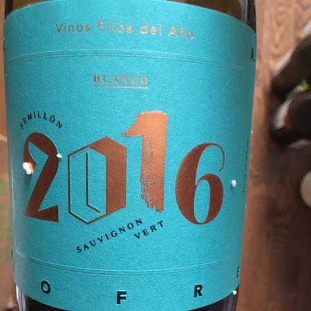 J.A. Jofré Vinos Fríos del Año Blanco Sémillon Sauvignon Vert 2015