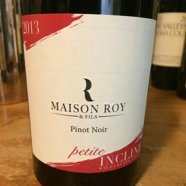 Petite Incline Willamette Valley Pinot Noir 2013