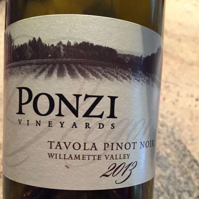Tavola Willamette Valley Pinot Noir 2013