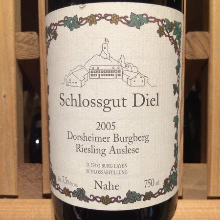 Schlossgut Diel Dorsheimer Burgberg Auslese Riesling 2001