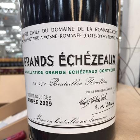 Domaine de la Romanée-Conti (DRC) Grands Échézeaux Pinot Noir 2009