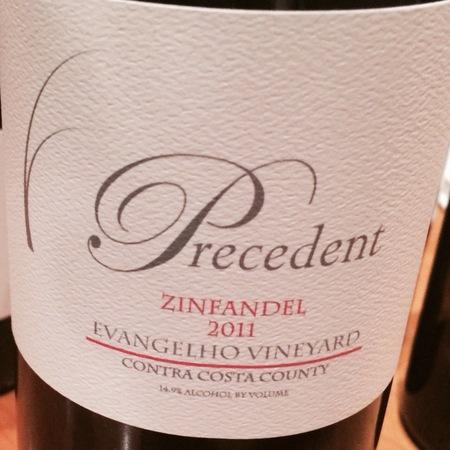 Precedent Evangelho Vineyard Zinfandel 2015