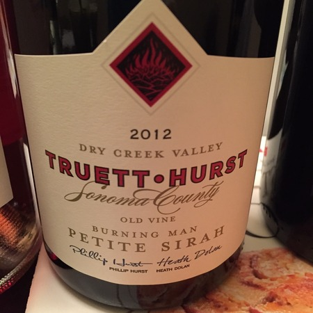 Truett-Hurst Burning Man Old Vine Petite Sirah 2006