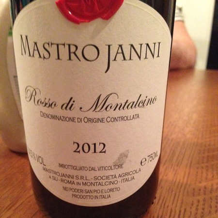 Mastrojanni (Poderi Loreto e San Pio) Brunello di Montalcino Sangiovese 2012