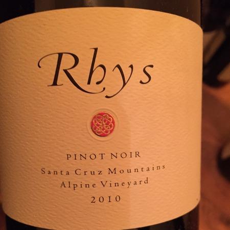 Rhys Vineyards Alpine Vineyard Pinot Noir 2010