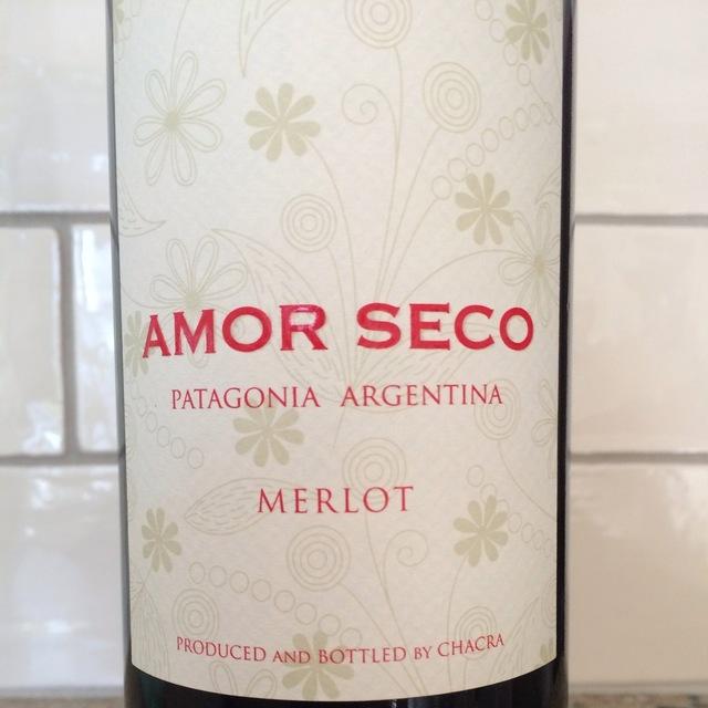 Amor Seco Patagonia Merlot 2014