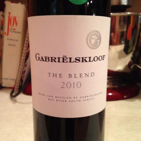 Gabrielskloof The Blend Red Bordeaux Blend 2010