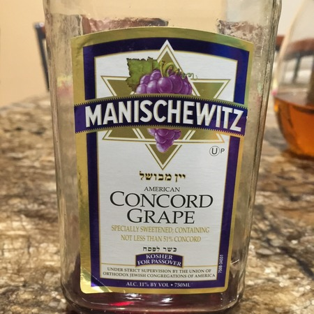 Manischewitz Concord Grape NV