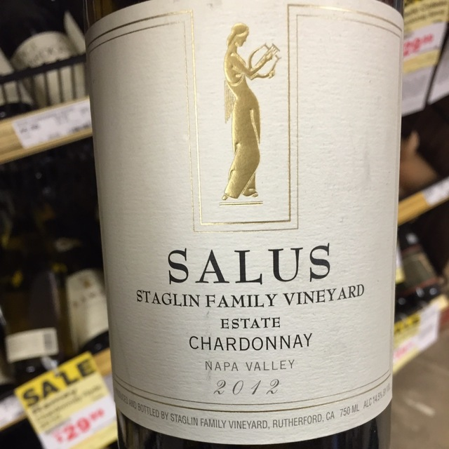 Salus Estate Napa Valley Chardonnay NV
