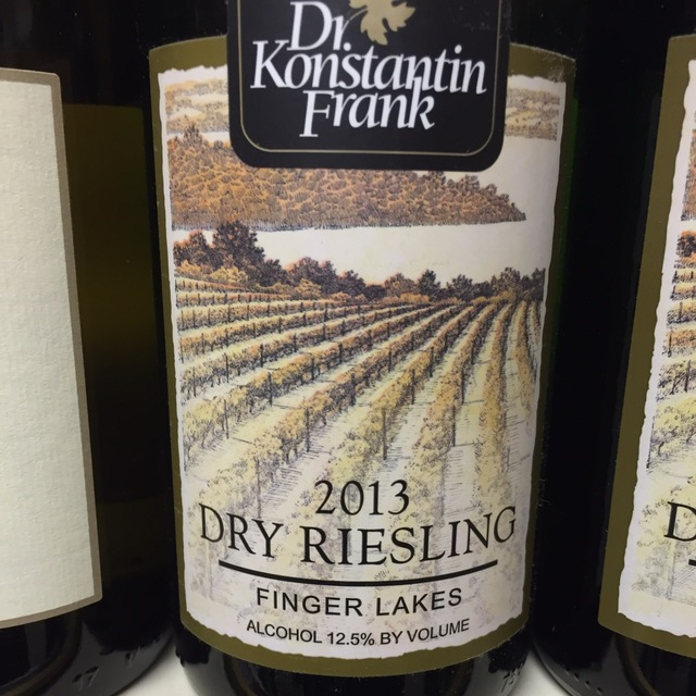 Finger Lakes Dry Riesling 2013