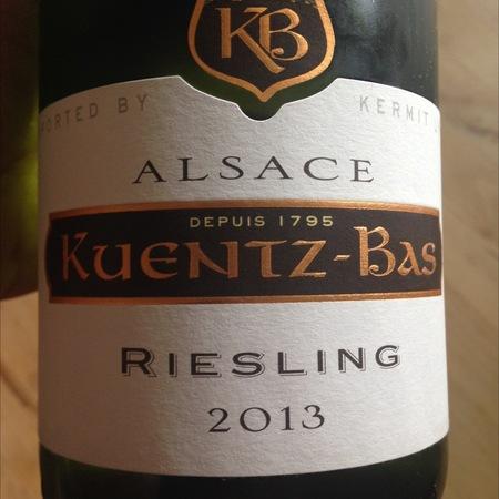 Kuentz-Bas Alsace Riesling 2013
